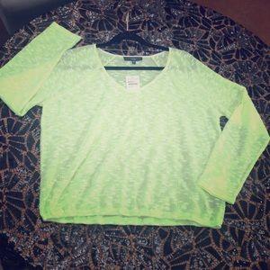 New $79 Sanctuary Neon Lightweight Summer Sweater